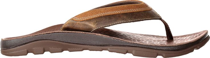 Chaco Men's Kirkwood Flip-Flops Caramel 10