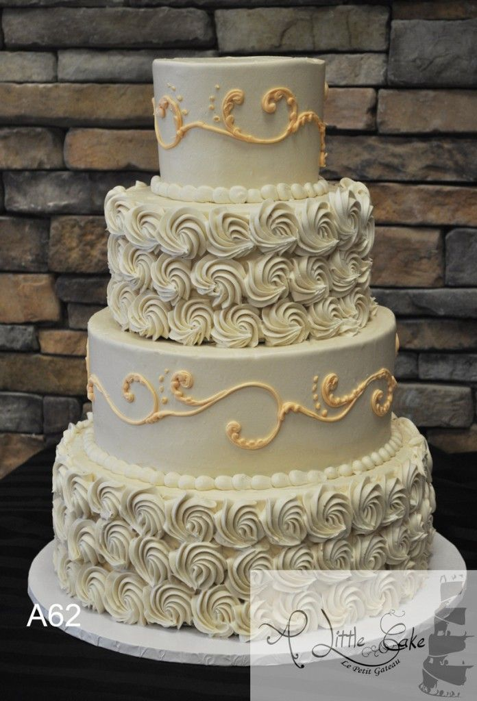 wedding cake with buttercream 17 best images about wedding cakes with rosettes on 26843