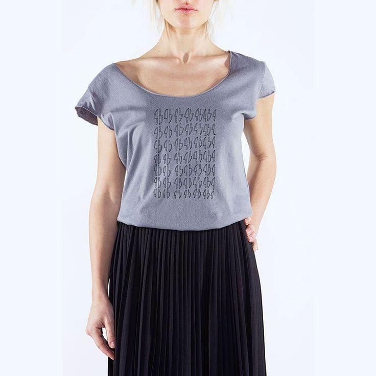 Francesca Ferrandi - Knife T-Shirt Uneck - 24€