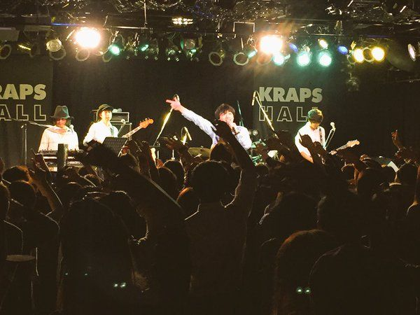 「君が、来る」バンドツアー札幌公演終了です!!お越し下さいました皆さんありがとうございました!!最高の夜になったと思います!!次は1月23日名古屋!!是非!!