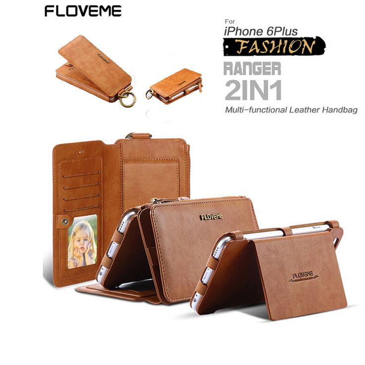 Genuine Leather Phone Case for Samsung Galaxy Note 5 Note 7 Luxury 2 in 1 Wallet Flip Cover For Samsung Galaxy S6 S6Edge S7 Case