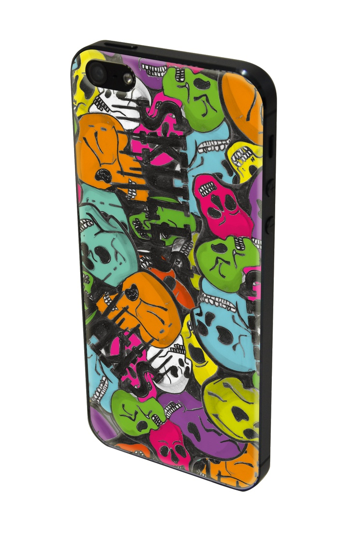 skin iphone5 skulls