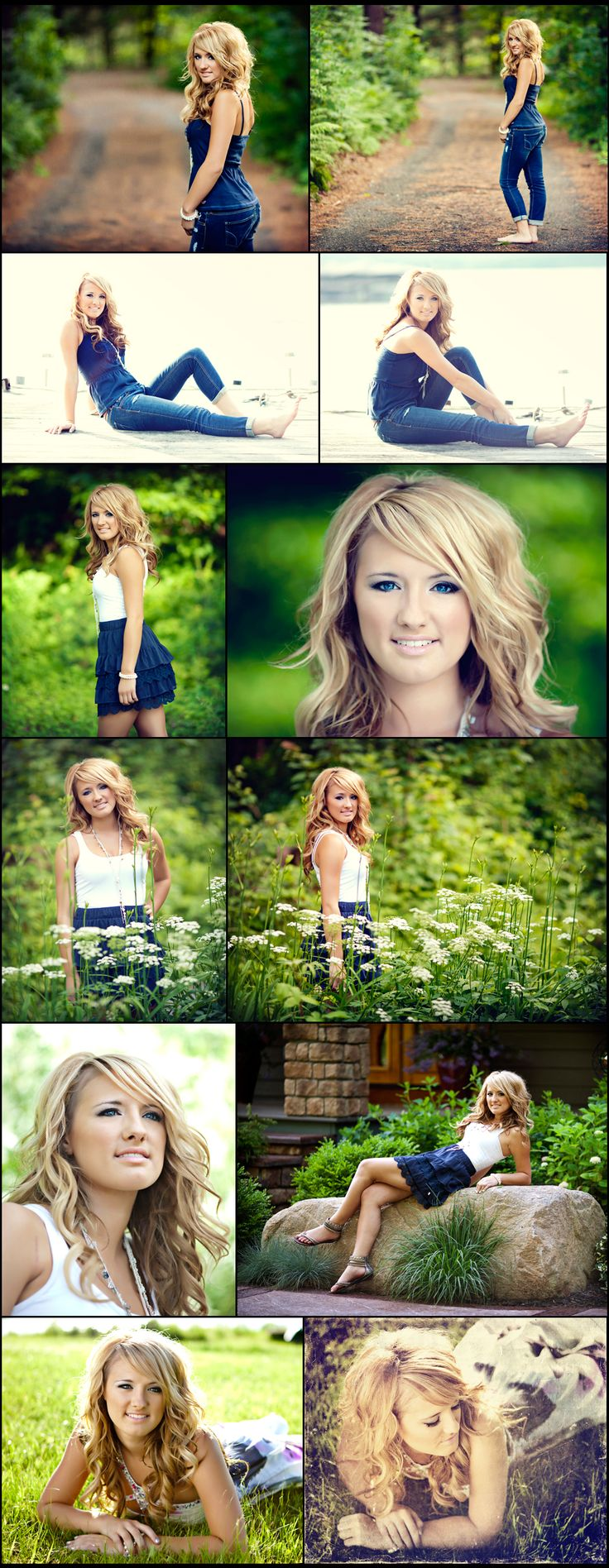 It's that time of year! Time to get your senior pictures done. Kayla here was our first senior session of the season and she decided to have her session at her lake house. It was a beautiful evening and everything came together perfectly :) Hair and make-up by Nvious