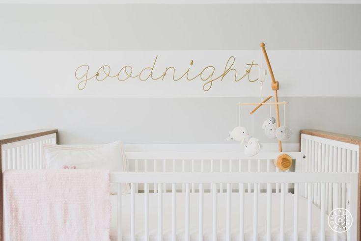 ducduc Austin crib in bleached walnut  Goodnight Nursery by Homepolish New York City https://www.homepolish.com/mag/goodnight-nursery