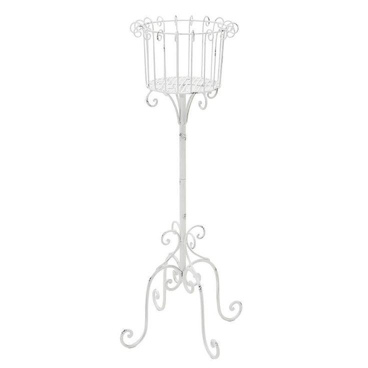 Metallic Flower Stand - Flower Stands - FURNITURE - inart