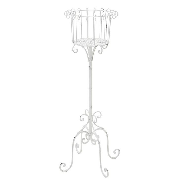 Metallic Flower Stand - Flower Stands - FURNITURE - inart