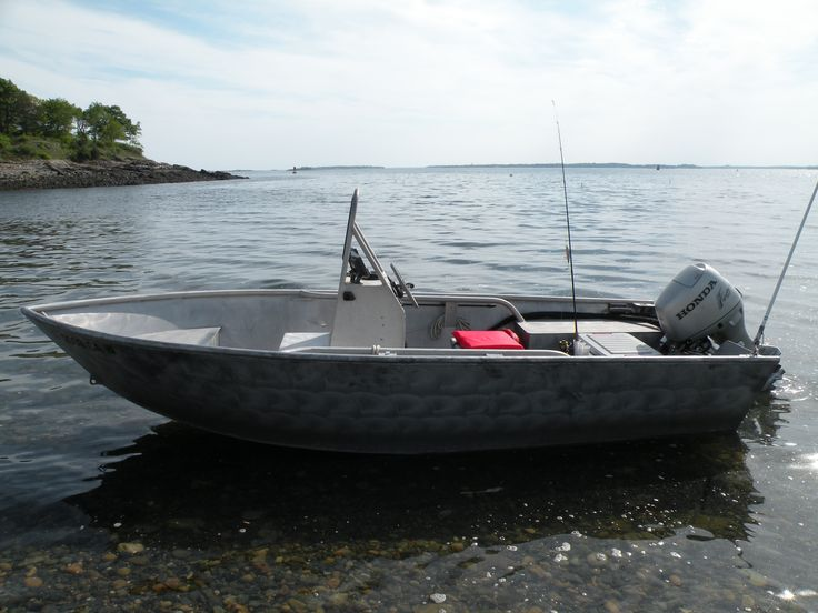 Welded aluminum boat 16 39 workskiff hd aluminum boat for Aluminum fishing boats