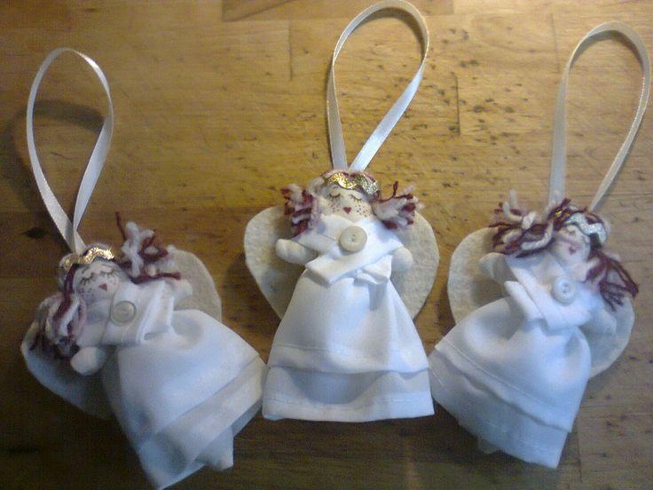 Angels, Christmas ornaments