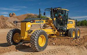 #Komatsu America Corp. Introduces the GD655-6 Motor Grader | Rock & Dirt Blog Construction Equipment News & Information #MotorGrader #RockandDirt