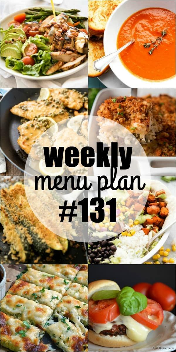 Dive Into The New Year With Menu Plan Recipes That You Can Feel Good About Feeding Your Family These Health Dinner Recipes Weekly Dinner Menu Vegan Meal Plans