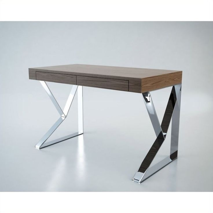Houston writing desk wood stainless steal in new york