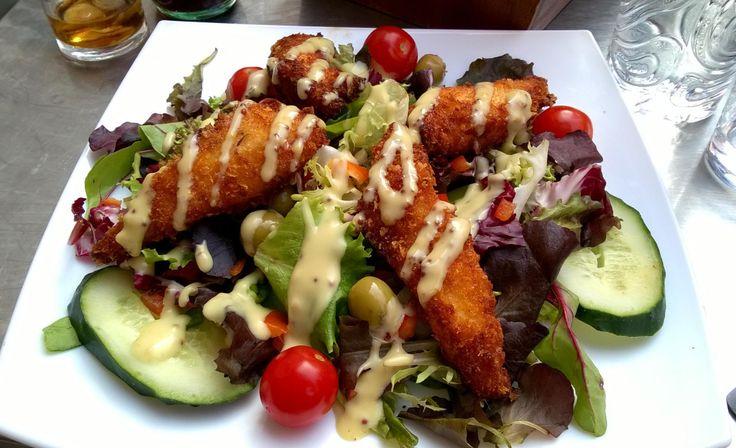 Crispy chicken salad!