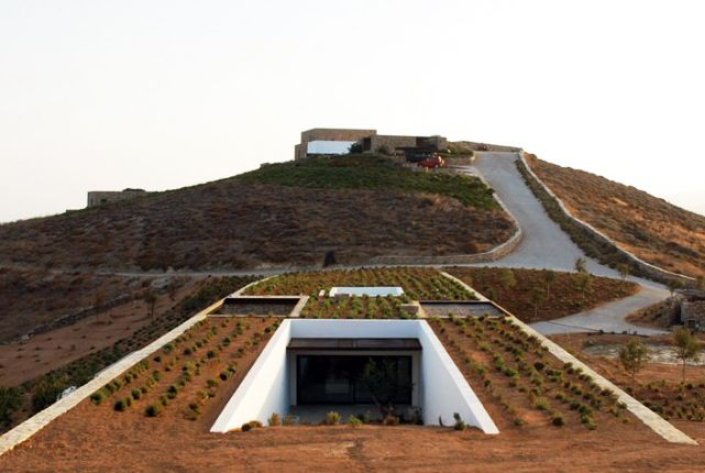 Beautiful Underground Aloni House Blends in With The Earth | Inhabitat - Sustainable Design Innovation, Eco Architecture, Green Building