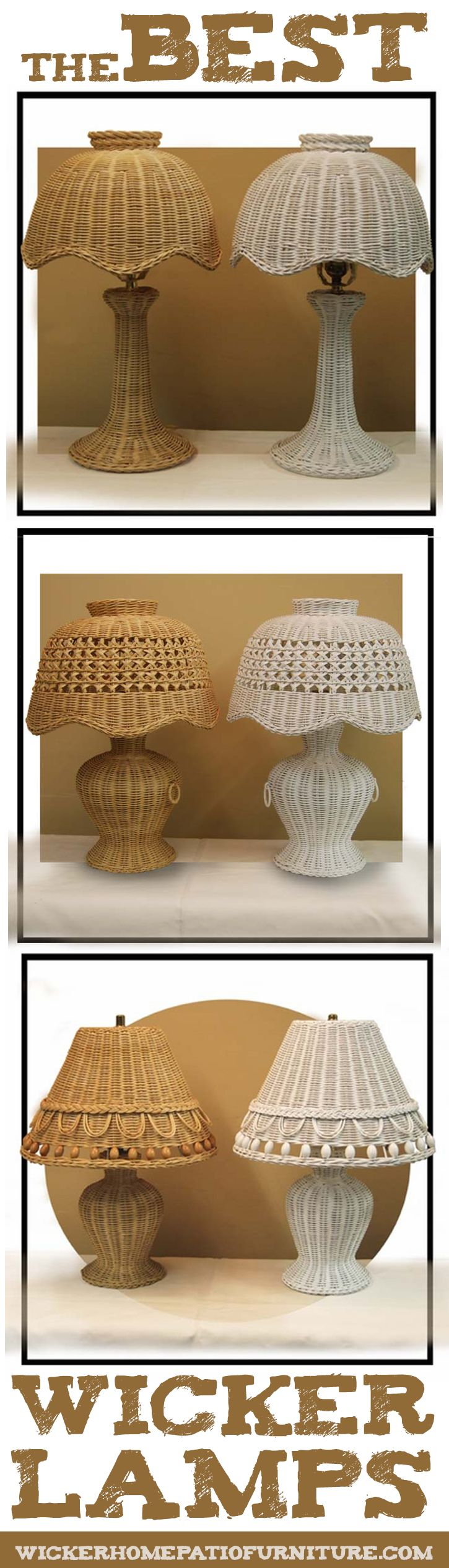 The Best Wicker Lamps