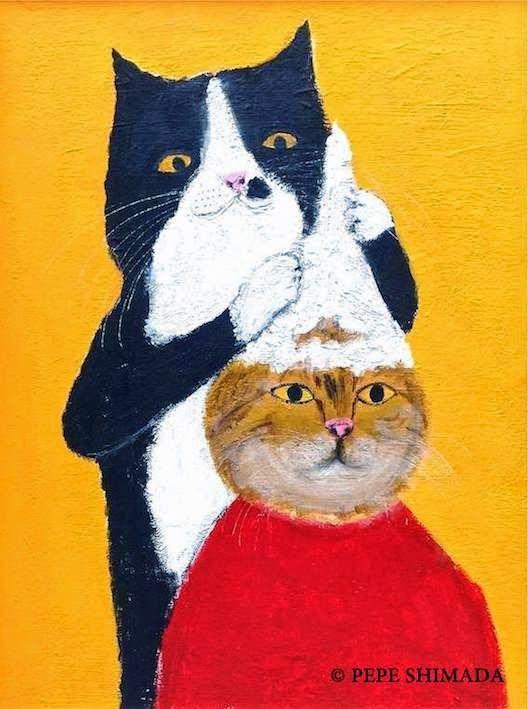 Taiwan Cat Shampoo <=> Artist Pepe Shimada Copyright © PEPE SHIMADA All Rights Reserved