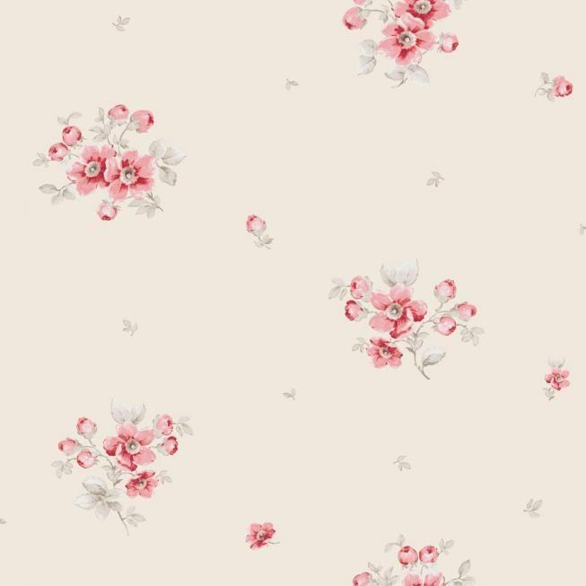 Casadeco Landhaustapete mit Blumen LLR21218113