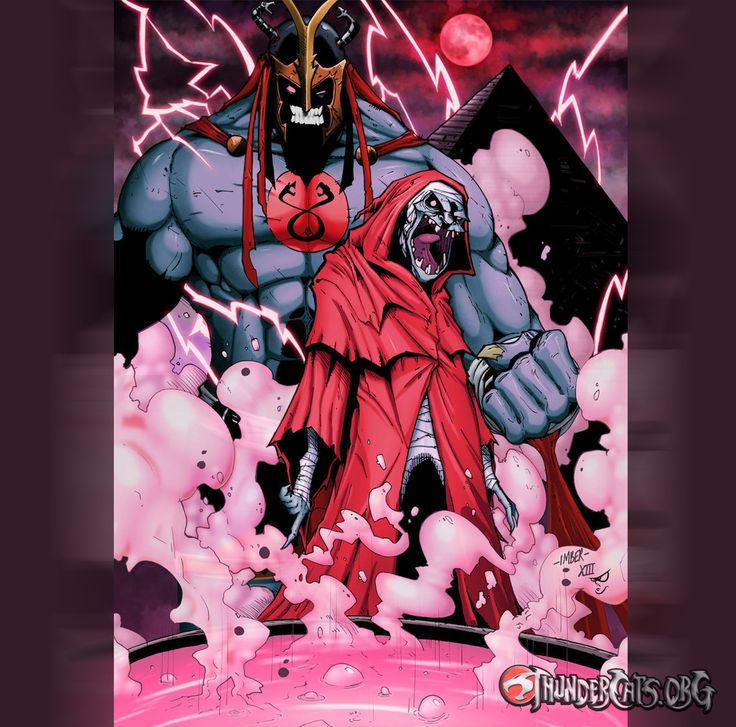 Mumm-Ra transforms. By RecklessHero (Deviantart) Shared by ThunderCats.org