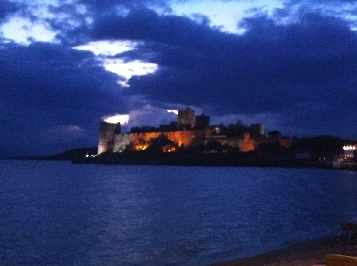 Bodrum Castle by nigth