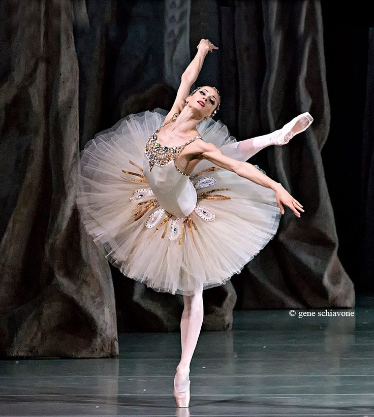 "Yekaterina Kondaurova in ""Diamonds"" from Balanchine's ""Jewels,"" Mariinsky Theatre. Photo (c) Gene Schiavone."