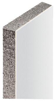 Dim : 2,50 x 1,20 m, soit 3 m². Polystyrène ép. 80 mm + plaque de plâtre ép. 13 mm. Pose par collage au mortier adhésif. ACERMI. LAMBDA 0,030. Garantie 2 ans. C