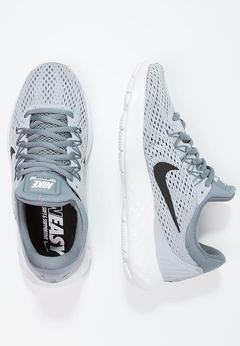 Nike Performance LUNAR SKYELUX - Juoksukenkä/neutraalit - wolf grey/black/cool grey/white - Zalando.fi