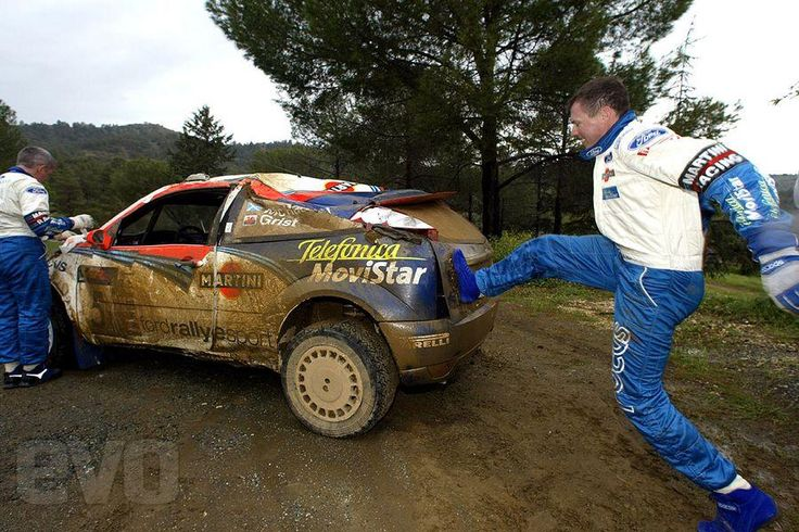 Colin Mcrae - Ford Focus frustration
