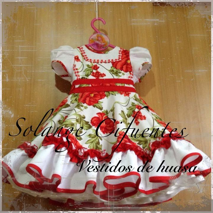 "Chilean ""China"" dress - vestido de China chilena"