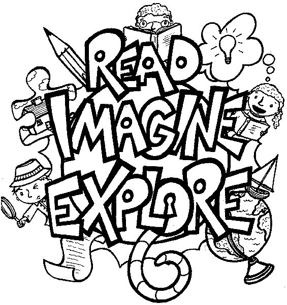 Free Coloring Pages Of School Library