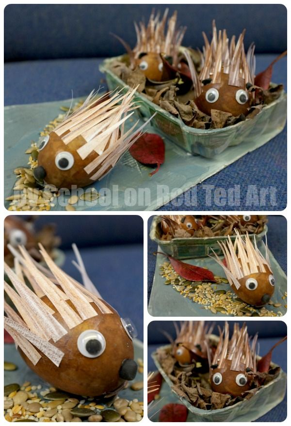 School Egg Decorating Competition - Egg Hedgehogs - Red Ted Art's Blog