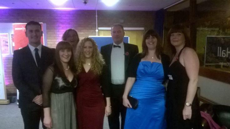 WATA staff at the Huntingdon business awards 2014 - Winners of the Business Development Award