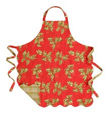 Holly Red Apron