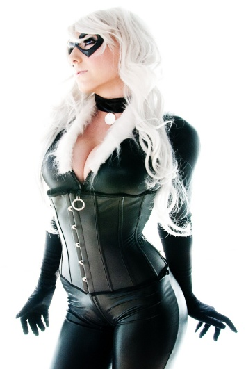 Black Cat by Jessica Nigri shot by 12 North Photography