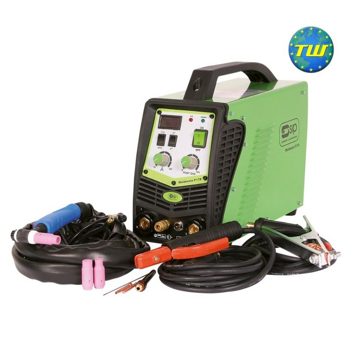 SIP 05266 Weldmate P178HF Dual TIG/Arc Inverter Welder - 160A TIG - 140A Arc http://www.twwholesale.co.uk/product.php/section/7130/sn/SIP05266