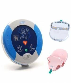 Le Pad/Pak  Quella di colore rosa è quella pediatrica che permette il facile riconoscimento nel momento dell'emergenza