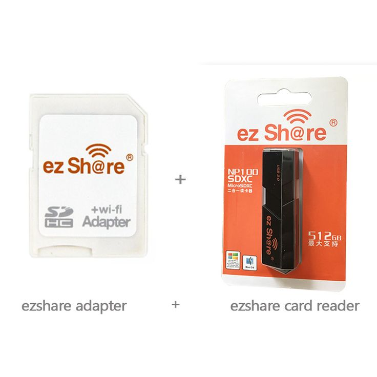 Free shipping! Newest white Ezshare micro sd wifi adapter support 8G 16G 32G memory card TF MicroSD adapter WiFi SD card