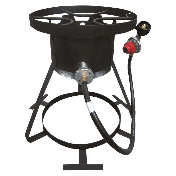 Kamp Kitchen Outdoor Cooker And Fryer 18 Black