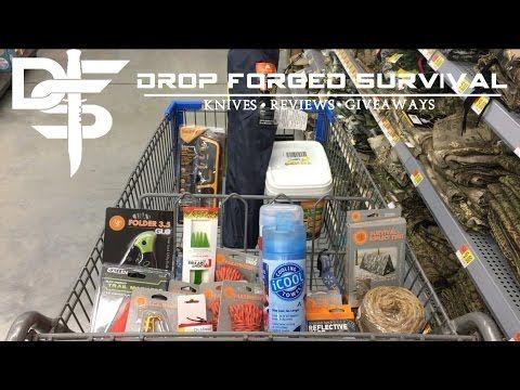 Survival & EDC Shopping at my Local Walmart - 2017 Week 2