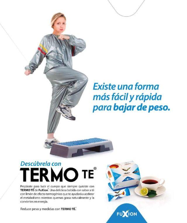Existe una forma más rápida y fácil de perder peso con #TermoTé de #FuXion Información y pedidos para España / Europa  Info@bebidasfuxion.es