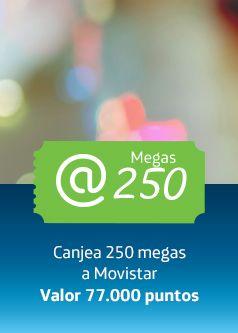 Club Movistar - Canje de puntos