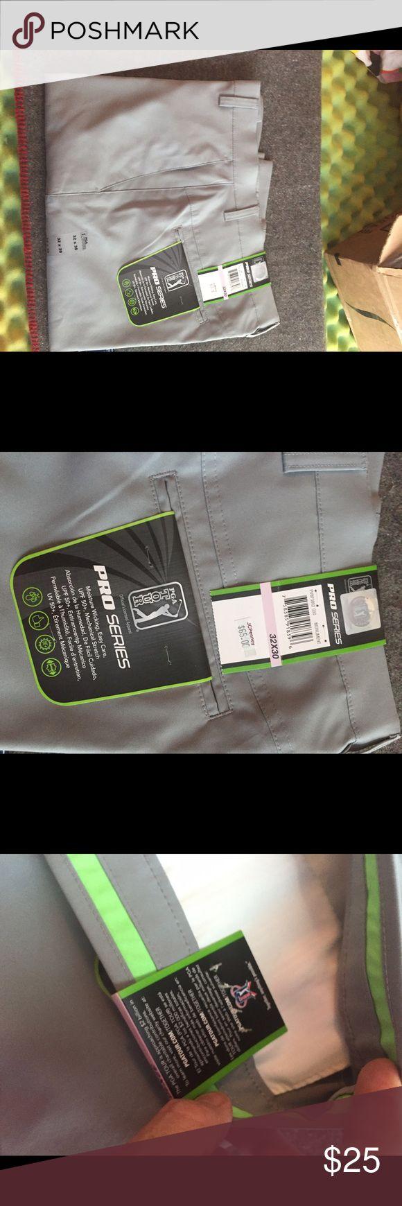 Pro series PGA Tour men's khaki pants Pro series PGA Tour men's khaki pants-new with tags PGA Pro Tour Series Pants Chinos & Khakis