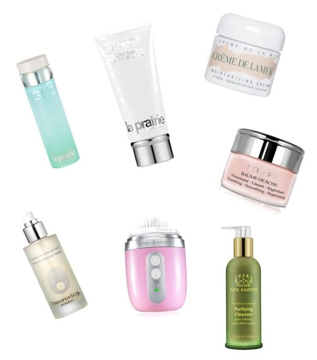 """Skin care must have"" by nouryah on Polyvore featuring beauty, La Mer, Omorovicza, La Prairie, Clarisonic, By Terry and Tata Harper"