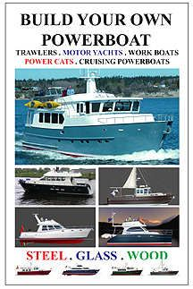 STEEL BOAT KIT ASSEMBLY PHOTOGRAPHS AND TEXT