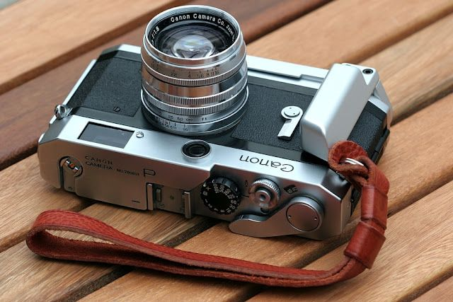 Canon 7. Oh how I love vintage cameras!