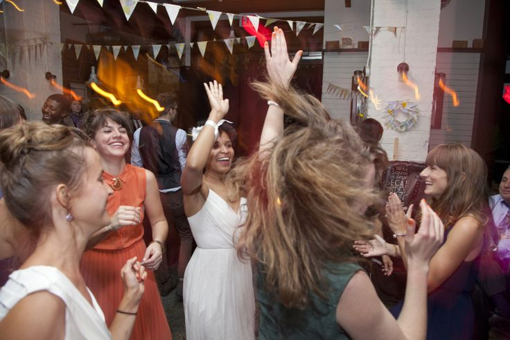 {  WHEN OUR CHURCH DOUBLE-BOOKED, OUR VENUE SAVED THE DAY  }  Our hip, indoor Brooklyn wedding At Cubana social (saver of weddings)...... Janis, Film Editor & Liz, Project Manager at Art Logistics Company