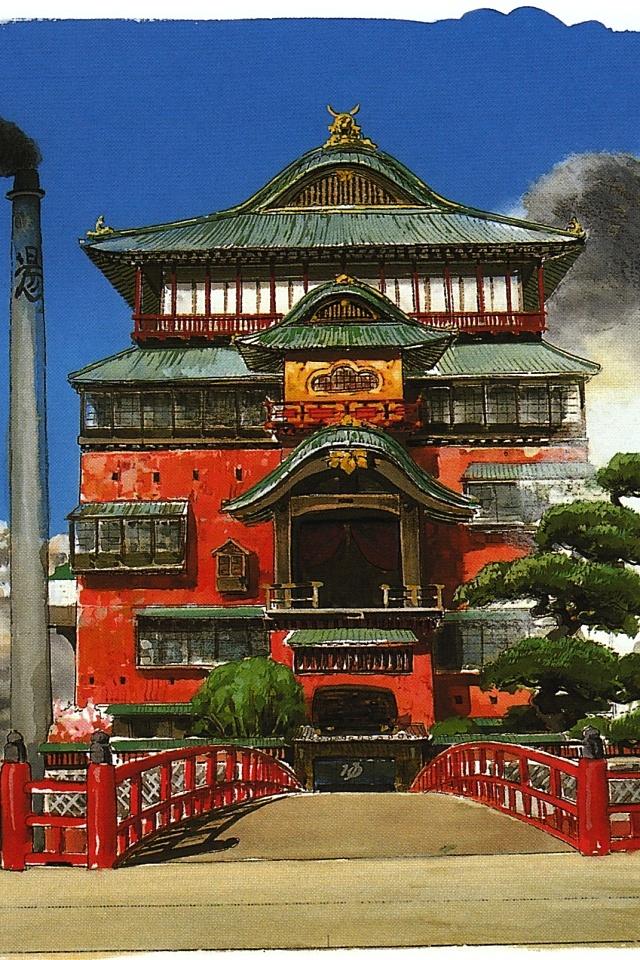 Spirited Away The Bath House Studio Ghibli