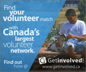 Find your volunteer match with Canada's largest network. Find out how at getinvolved.ca