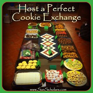 Host a Perfect Cookie Exchange