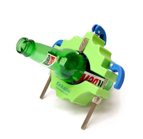 Taglio di bottiglia ha reso facile Kinkajou è il rivoluzionario modo per trasformare i tuoi marchi preferiti di bottiglie di vetro in