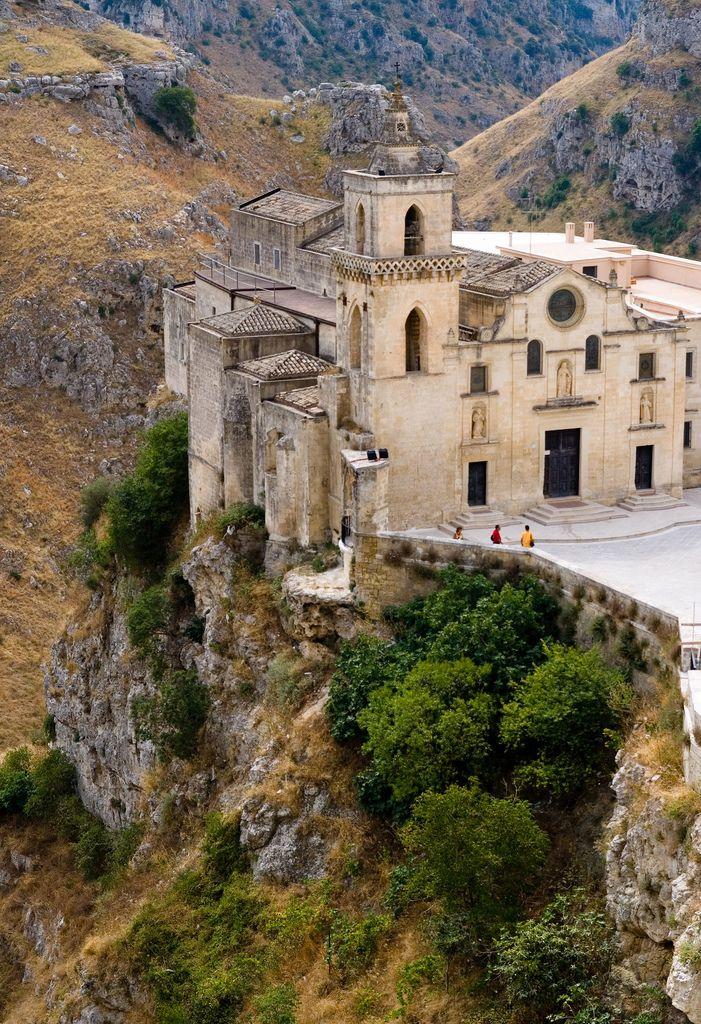 The church of San Pietro Caveoso, Matera, Basilicata, Italy