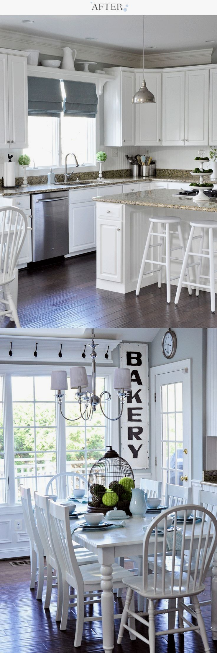 Low window behind kitchen sink  pin by betsy roe on chabby chic beachy in   pinterest  kitchen